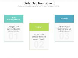 Skills Gap Recruitment Ppt Powerpoint Presentation File Inspiration Cpb