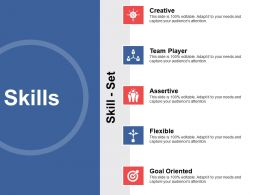 Skills Goal Oriented Creative Ppt Powerpoint Presentation Outline Show