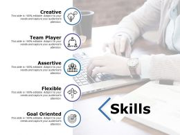 Skills Goal Oriented Ppt Powerpoint Presentation File Deck