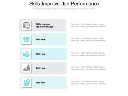 Skills Improve Job Performance Ppt Powerpoint Presentation Example Topics Cpb