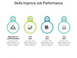 Skills Improve Job Performance Ppt Powerpoint Presentation Outline Rules Cpb