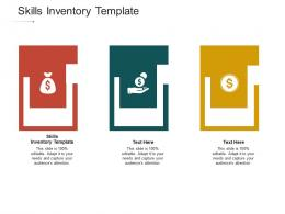 Skills Inventory Template Ppt Powerpoint Presentation Professional Slides Cpb