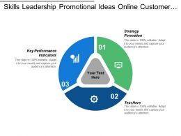 Skills Leadership Promotional Ideas Online Customer Acquisition Leadership Skills