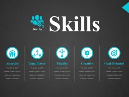 Skills Ppt Design Ideas