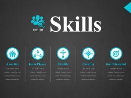 Skills Ppt Design Ideas