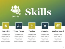 Skills Ppt Styles Objects