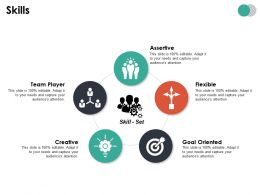Skills Ppt Summary Designs