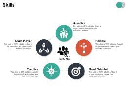 Skills Ppt Summary Designs