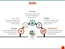 Skills Presentation Pictures