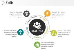 Skills Presentation Slides