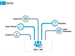 Skills Team Player Goal Ppt Powerpoint Presentation Pictures Visuals