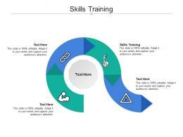 Skills Training Ppt Powerpoint Presentation Portfolio Example File Cpb