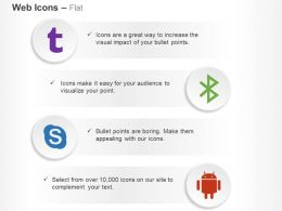 skype_android_bluetooth_technology_ppt_icons_graphics_Slide01