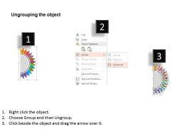 67372408 Style Circular Semi 14 Piece Powerpoint Presentation Diagram Infographic Slide