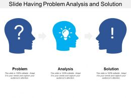 Slide Having Problem Analysis And Solution