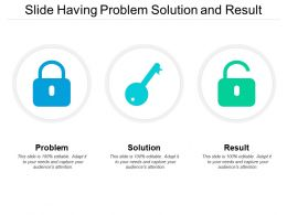 Slide Having Problem Solution And Result
