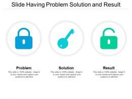 Slide Having Problem Solution And Result