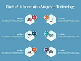 Slide Of 6 Innovation Stages In Technology