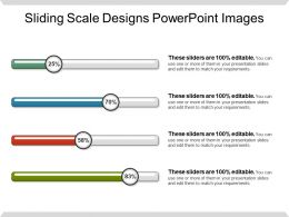Sliding Scale Designs Powerpoint Images