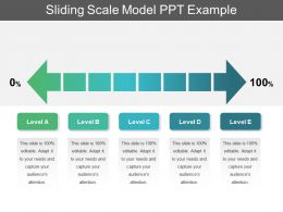Sliding Scale Model Ppt Example
