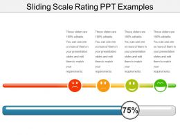 Sliding Scale Rating Ppt Examples