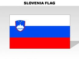 Slovenia Country Powerpoint Flags