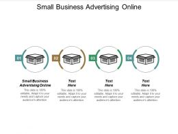 Small Business Advertising Online Ppt Powerpoint Presentation Gallery Background Cpb