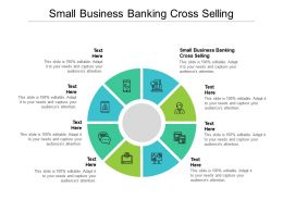 Small Business Banking Cross Selling Ppt Powerpoint Template Vector Cpb