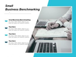Small Business Benchmarking Ppt Powerpoint Presentation Ideas Background Designs Cpb