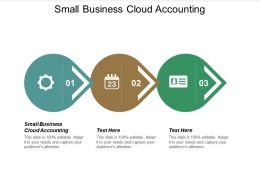 Small Business Cloud Accounting Ppt Powerpoint Presentation Show Cpb