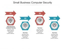 Small Business Computer Security Ppt Powerpoint Presentation Show Clipart Images Cpb