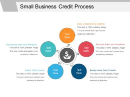 Small Business Credit Process Powerpoint Presentation