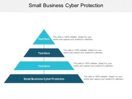 Small Business Cyber Protection Ppt Powerpoint Presentation Layouts Inspiration Cpb