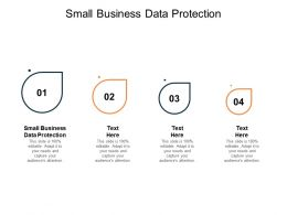 Small Business Data Protection Ppt Powerpoint Presentation Show Guide Cpb