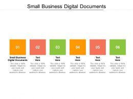 Small Business Digital Documents Ppt Powerpoint Presentation Professional Background Designs Cpb