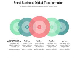 Small Business Digital Transformation Ppt Powerpoint Presentation Portfolio Rules Cpb