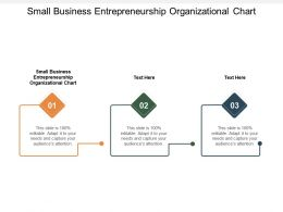 Small Business Entrepreneurship Organizational Chart Ppt Powerpoint Presentation Inspiration Cpb