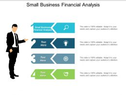 Small Business Financial Analysis Ppt Powerpoint Presentation Slides Gridlines Cpb
