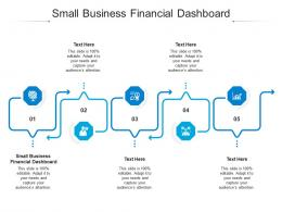 Small Business Financial Dashboard Ppt Powerpoint Presentation Infographics Portrait Cpb