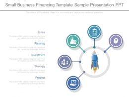 Small Business Financing Template Sample Presentation Ppt