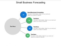 Small Business Forecasting Ppt Powerpoint Presentation Summary Aids Cpb