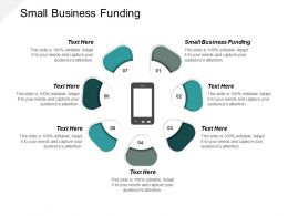 Small Business Funding Ppt Powerpoint Presentation Slides Outfit Cpb