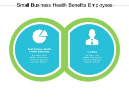 Small Business Health Benefits Employees Ppt Powerpoint Presentation Professional Cpb