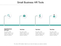 Small Business HR Tools Ppt Powerpoint Presentation Show Layout Cpb