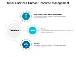 Small Business Human Resource Management Ppt Powerpoint Presentation Infographic Cpb