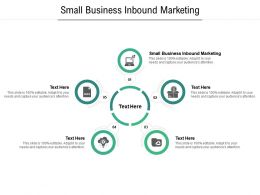 Small Business Inbound Marketing Ppt Powerpoint Presentation File Influencers Cpb