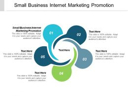 Small Business Internet Marketing Promotion Ppt Powerpoint Presentation Styles Ideas Cpb