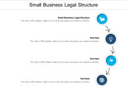 Small Business Legal Structure Ppt Powerpoint Presentation Inspiration Layout Cpb