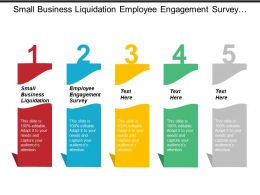 Small Business Liquidation Employee Engagement Survey Business Networking