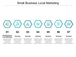 Small Business Local Marketing Ppt Powerpoint Presentation Infographics Introduction Cpb